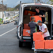 OCTOBER 6, 2017--AGUADILLA, PUERTO RICO ---<br /> Direct Relief makes a delivery of medical aid to a medical center in Aguadilla following the path of Hurricane Maria through Puerto Rico.<br /> (Photo by Angel Valentin/Freelance)