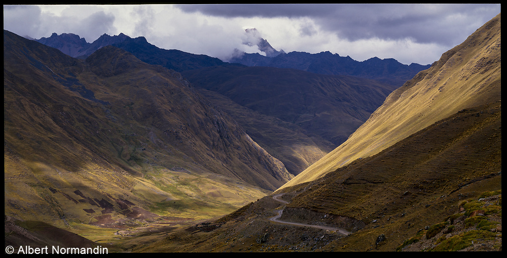 Road, Sacred Valley, Peru, 2003
