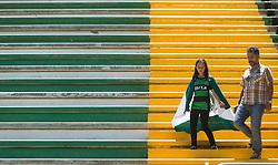 November 30, 2016 - Movimentação na Arena Índio Condá em Chapecó após a tragédia com a Chapecoense. (Credit Image: © Fabrizio Motta/Fotoarena via ZUMA Press)