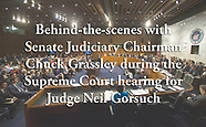 Behind-the-scenes of Senate Judiciary Committee's SCOTUS hearing