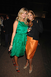 Left to right, CLEMENTINE BROWN and KATY WICKREMESINGHE at the Quintessentially Summer Party at the Wallace Collection, Manchester Square, London on 6th June 2007.<br />