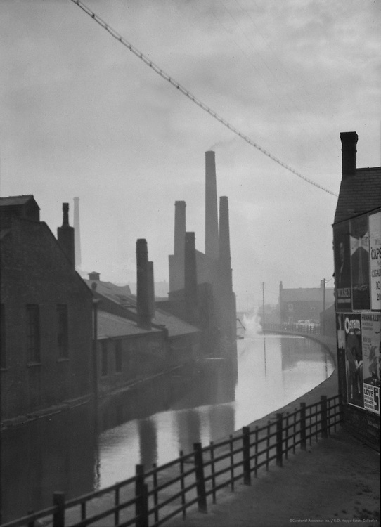 The Canal, Manchester, Lancashire, 1925
