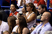 DESCRIZIONE : Campionato 2013/14 Finale Gara 7 Olimpia EA7 Emporio Armani Milano - Montepaschi Mens Sana Siena Scudetto<br /> GIOCATORE : Maria Vittoria Gentile<br /> CATEGORIA : Tifosi VIP<br /> SQUADRA : Olimpia EA7 Emporio Armani Milano<br /> EVENTO : LegaBasket Serie A Beko Playoff 2013/2014<br /> GARA : Olimpia EA7 Emporio Armani Milano - Montepaschi Mens Sana Siena<br /> DATA : 27/06/2014<br /> SPORT : Pallacanestro <br /> AUTORE : Agenzia Ciamillo-Castoria /GiulioCiamillo<br /> Galleria : LegaBasket Serie A Beko Playoff 2013/2014<br /> FOTONOTIZIA : Campionato 2013/14 Finale GARA 7 Olimpia EA7 Emporio Armani Milano - Montepaschi Mens Sana Siena<br /> Predefinita :