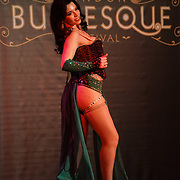Sugar Rush preforms at the London Burlesque Festival the VIP Opening Gala at Conway Hall on 18th May 2017, UK. by See Li