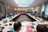 16 MAR 2017, BERLIN/GERMANY:<br /> Uebersicht Sitzungssaal, vor Beginn einer Sitzung der Ministerpraesidentenkonferenz, Bundesrat<br /> IMAGE: 20170316-01-019<br /> KEYWORDS: Ministerpr&auml;sidentenkonferenz, MPK, &Uuml;bersicht