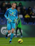 Jesper Rask (Hobro IK) under kampen i 3F Superligaen mellem Brøndby IF og Hobro IK den 15. december 2019 på Brøndby Stadion (Foto: Claus Birch).
