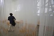 """12th Biennale of Architecture. Giardini. Hungarian Pavillion. Marcel ferencz, """"BorderLINE Architecture"""", 2010."""