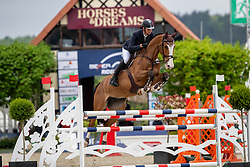 BETZ Niklas (GER), Imara<br /> Hagen - Horses and Dreams 2019 <br /> 2. Qualifikation Youngster Tour für 6+7j Pferde<br /> Preis der Gemeinde Hagen a.T.W.<br /> 26. April 2019<br /> © www.sportfotos-lafrentz.de/Stefan Lafrentz