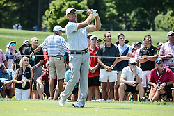 August 10, 2018 - Town And Country, Missouri, U.S - SEAN MCCARTHY from Solon Iowa, USA  tees off on hole number three during round two of the 100th PGA Championship on Friday, August 10, 2018, held at Bellerive Country Club in Town and Country, MO (Photo credit Richard Ulreich / ZUMA Press) (Credit Image: © Richard Ulreich via ZUMA Wire)