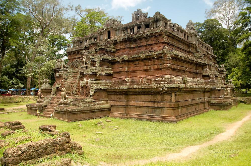 Temple at Angkor, Cambodia