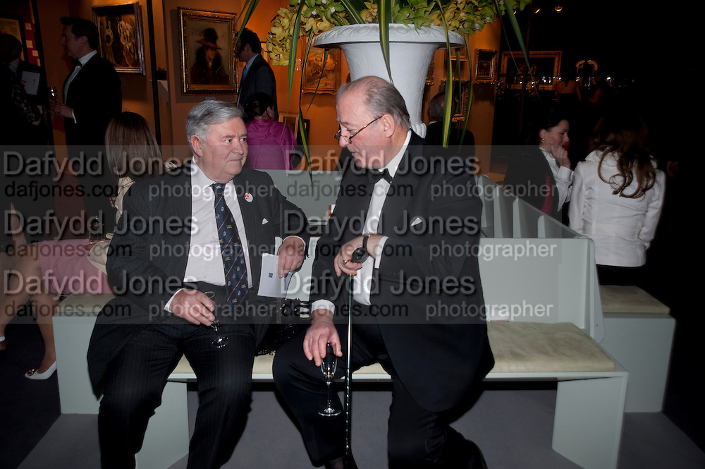 MARTIN HATTRELL; LORD CADOGAN, Bada Antiques Fine art Fair charity Gala. In aid of Leukaemia and Lymphoma Research. 18 March 2010.