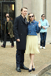 Paul Dano and Zoe Kazan arrive at the Miu Miu show as part of the Paris Fashion Week Womenswear Fall, Winter 2016, 2017 on March 9, 2016 in Paris, France. EXPA Pictures © 2016, PhotoCredit: EXPA/ Photoshot/ Zenon Stefaniak<br /> <br /> *****ATTENTION - for AUT, SLO, CRO, SRB, BIH, MAZ, SUI only*****