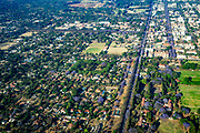 Aerial Photography of Harare, Zimbabwe