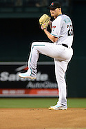 Apr 5, 2016; Phoenix, AZ, USA; Arizona Diamondbacks starting pitcher Shelby Miller (26) warms up prior to the game against the Colorado Rockies at Chase Field. The Arizona Diamondbacks won 11-6.  Mandatory Credit: Jennifer Stewart-USA TODAY Sports