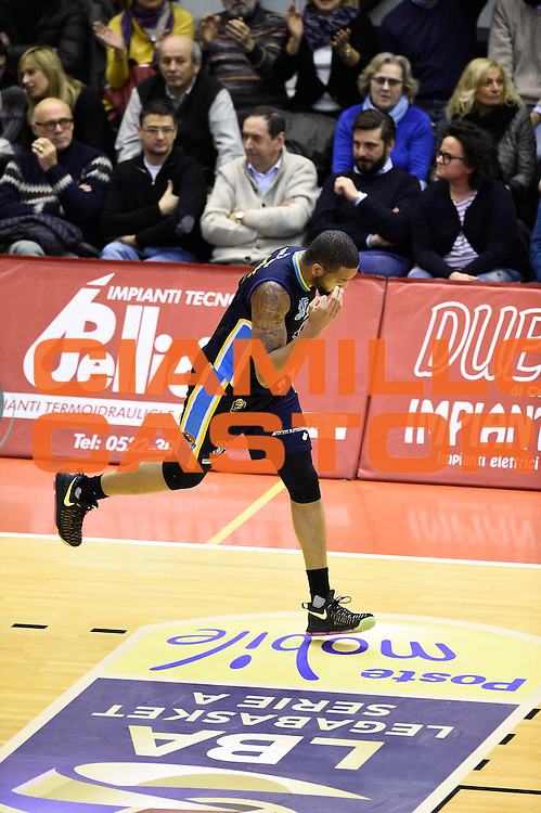 TaShawn Thomas<br /> Grissin Bon Reggio Emilia - Vanoli Cremona<br /> Lega Basket Serie A 2016/2017<br /> Reggio Emilia, 08/01/2017<br /> Foto Ciamillo-Castoria