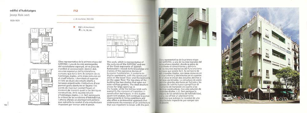 Edifici d'habitatges_J.L.Sert