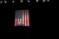 MILWAUKEE, WI  - APRIL 16: US Senator and presidential candidate Barack Obama D-IL,  speaks to supporters at the Milwaukee Theater during a fund raiser Monday April 16th 2007. (Photo by Darren Hauck/Getty Images)..........