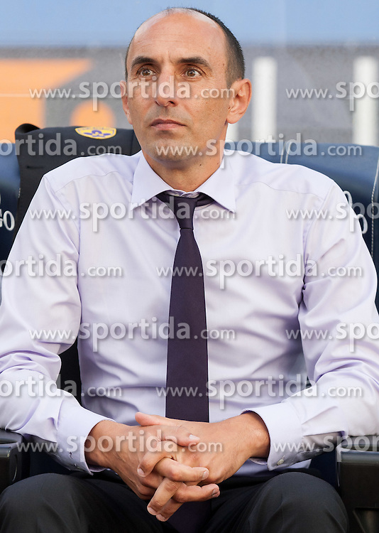 Krunoslav Jurcic, head coach of Maribor during football match between ND Gorica and NK Maribor in 9th Round of Prva liga Telekom Slovenije 2015/16, on September 12, 2015, in Sports centrum Nova Gorica, Slovenia. Photo by Vid Ponikvar / Sportida