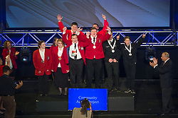 The 2017 SkillsUSA National Leadership and Skills Conference Competition Medalists were announced Friday, June 23, 2017 at Freedom Hall in Louisville. <br /> <br /> Community Action Project<br /> <br /> Team H (consisting of Brian Courtney Jr, Collin Kelly)<br />   High School Minuteman RHS<br />   Gold Lexington, MA<br /> Community Action ProjectTeam I (consisting of Carson craig, Pierce Kurasz)<br />   High School Sabin-Schellenberg Center<br />   Silver Milwaukie, OR<br /> Community Action ProjectTeam K (consisting of Sadie Buckingham, Kali Smith)<br />   High School H G Sackett Tech Center<br />   Bronze Glenfield, NY<br /> Community Action ProjectTeam A (consisting of Justin Ford, Jacob Ames)<br />   College Central Technology Center-Drumright<br />   Gold Drumright, OK