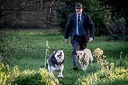 Chris Taylor and dog walking
