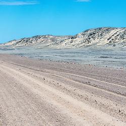 Salt Road, Skeleton Coast, Namibia