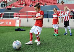 Mascot- Mandatory by-line: Nizaam Jones/JMP- 15/09/2018 - FOOTBALL - Ashton Gate Stadium - Bristol, England- Bristol City v Sheffield United -Sky Bet Championship