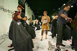 Abertura Campeonato para cabelereiros na Hair Brasil 2007, maior evento de beleza da América Latina, realizado de 13 a 17 de abril, no Expo Center Norte, na zona norte de São Paulo. FOTO: Jefferson Bernardes/Preview.com