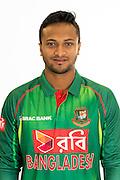 Shakib Al Hasan, Bangladesh cricket team headshots ahead of their New Zealand tour. Cobham Oval, Whangarei. 21 December 2016. Copyright Image: Heath Johnson / www.photosport.nz