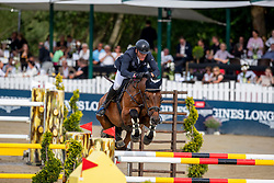Brocks Karl jun. (GER), Chasmo<br /> Balve - Longines Optimum 2019<br /> Deutsche Meisterschaft Springen Herren<br /> 1. Wertungsprüfung mit 2 Umläufen<br /> 14. Juni 2019<br /> © www.sportfotos-lafrentz.de/Stefan Lafrentz
