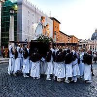 Procession In Honor Of Madonna Del Carmine 2020
