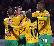 Doncaster - Friday January 30th 2009: Jonathan Grounds of Norwich City Celebrates scoring the equalizer during the the Coca Cola Championship Match at The Keepmoat Stadium Doncaster. (Pic by Steven Price/Focus Images)