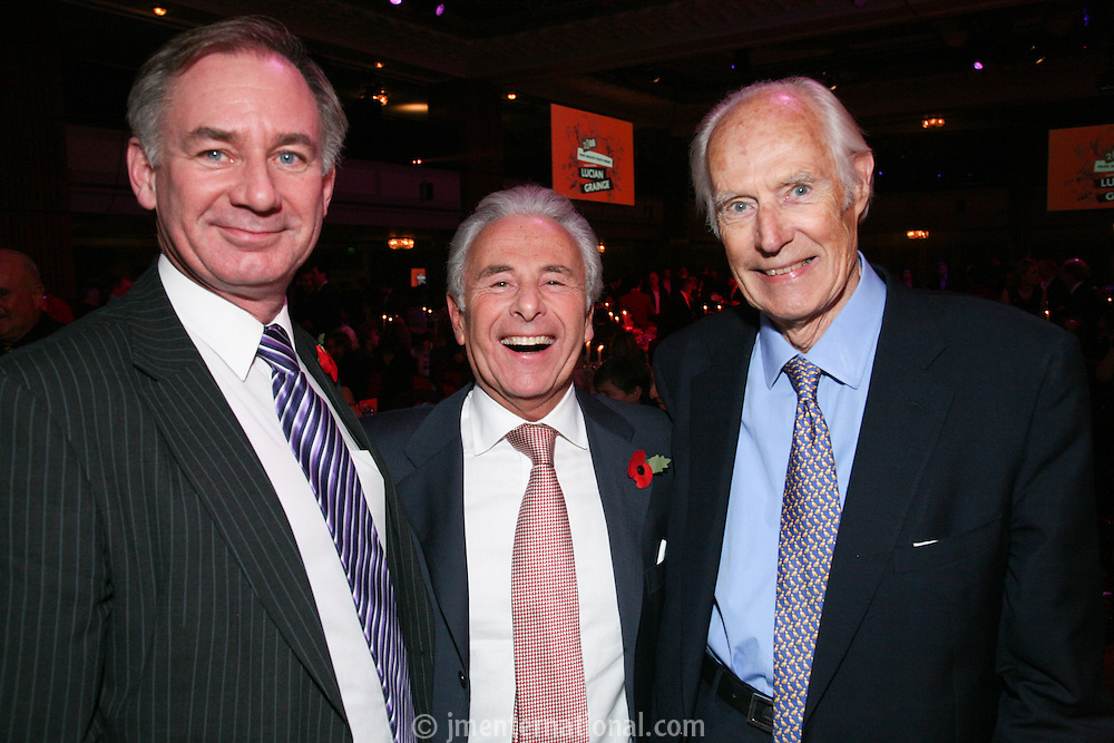 Geoff Hoon, Lord Levy and Sir George Martin