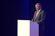 Koning Willem Alexander heropent VDL Nedcar. De autofabriek VDL Nedcar is omgebouwd en heringericht voor de productie van de nieuwe MINI in opdracht van BMW. <br /> <br /> King William Alexander reopens VDL Nedcar. The car factory VDL Nedcar has been converted and refurbished for the production of the new MINI commissioned by BMW.<br /> <br /> Op de foto / On the photo: Joost Govaarts (algemeen directeur VDL Nedcar)