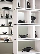 Designer Ben de Lisi, photographed in his Battersea Home..Pic show: lounge  .
