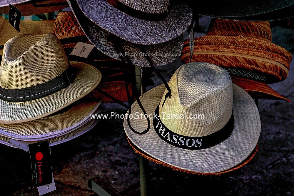 Tourist Souvenirs from Thassos, Greece