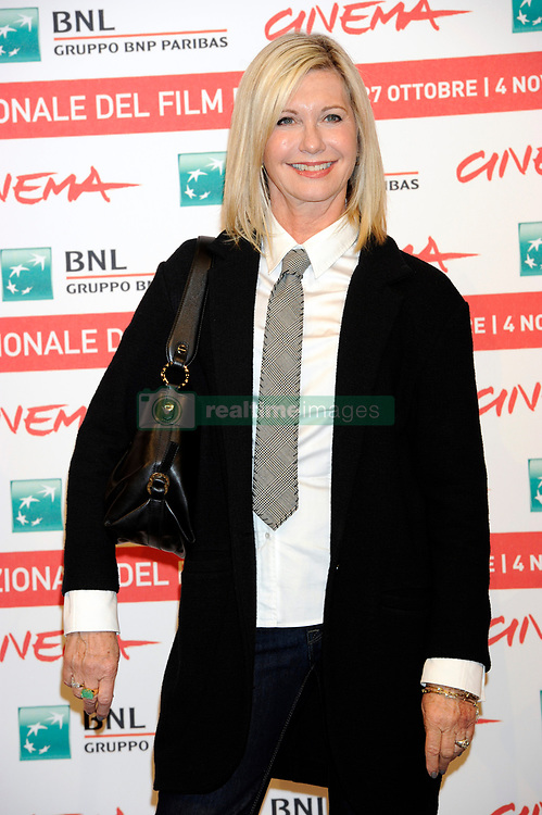 Olivia Newton-John attends the 'A Few Best Men' photocall as part of the 6th Rome Film Festival in Rome, Italy, October 28, 2011.
