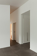 interior of a new house, corridor view