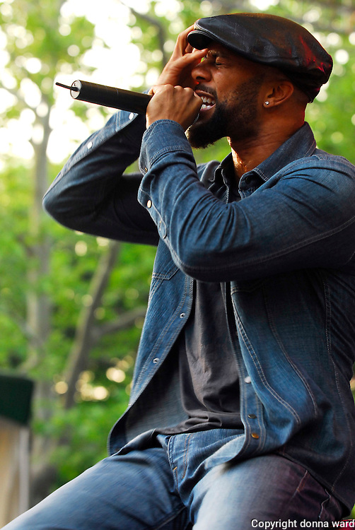 Rapper Common performs at the SummerStage 2007 Kick-Off Benefit Concert in Central Park on Friday, June 8, 2007 in New York.