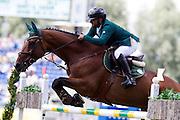 Ramzy al Duhami - Bayard van de Villa Theresia<br /> World Equestrian Festival, CHIO Aachen 2012<br /> © DigiShots