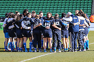 Italy Women before the Women's RBS 6 Nations match at Twickenham Stoop , London<br /> Picture by David Horn/Focus Images Ltd +44 7545 970036<br /> 15/02/2015
