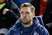 Middlesbrough coach Jonathan Woodgate during the EFL Sky Bet Championship match between Sheffield Wednesday and Middlesbrough at Hillsborough, Sheffield, England on 19 October 2018.