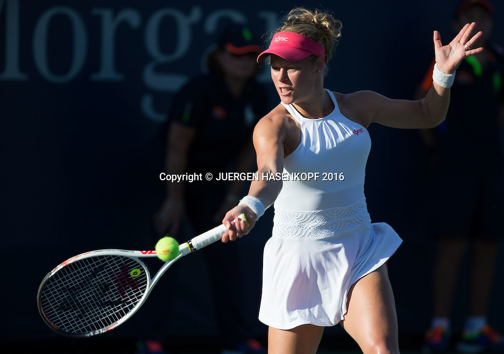 LAURA SIEGEMUND (GER)<br /> <br /> Tennis - US Open 2016 - Grand Slam ITF / ATP / WTA -  USTA Billie Jean King National Tennis Center - New York - New York - USA  - 30 August 2016.