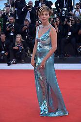 Violante Placido attending the Vox Lux premiere during the 75th Venice Film Festival