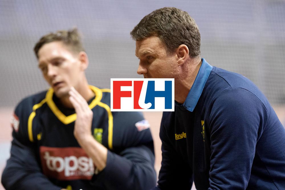 BERLIN - Indoor Hockey World Cup<br /> Men: Austria - South Africa<br /> foto: LE ROUX Pierre.<br /> WORLDSPORTPICS COPYRIGHT FRANK UIJLENBROEK