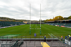 A general view of the Recreation Ground pitch - Mandatory byline: Patrick Khachfe/JMP - 07966 386802 - 13/10/2018 - RUGBY UNION - The Recreation Ground - Bath, England - Bath Rugby v Toulouse - Heineken Champions Cup