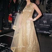 London,England,UK : 8th April 2016 : Maria Kouka attend the The Asian Awards 2016 at Grosvenor House Hotel, Park Lane, London. Photo by See Li