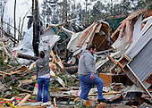 1.3.13- Brantley Mobile Home Park tornado damage