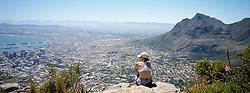 Looking over Cape Town, Lions Head (Credit Image: © Axiom/ZUMApress.com)