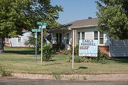 Earls Roadkill Beef Jerky on Route 66 in McClean, Texas