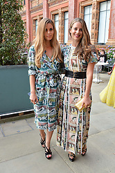 Irene Forte and Lydia Forte at the V&A Summer Party 2017 held at the Victoria & Albert Museum, London England. 21 June 2017.